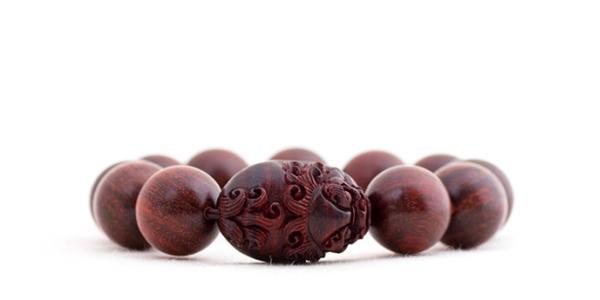 小叶紫檀貔貅手串